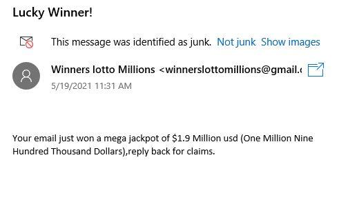 loto scam